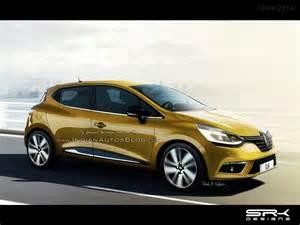 Clio Renault 2016 Renault Clio Facelift Iab Rendering