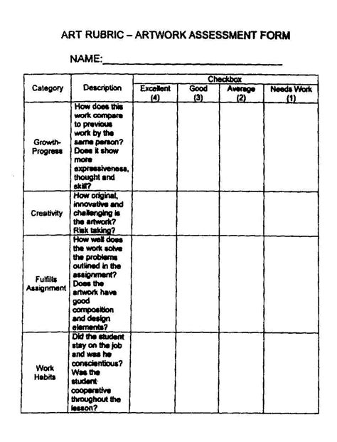 grading rubric template rubric template related keywords rubric template
