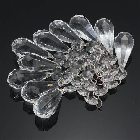 Chandelier Plastic Crystals 10 X Acrylic Hanging Garland Chandelier Wedding Decor Alex Nld