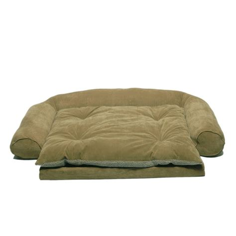 couch with removable cushions large ortho sleeper comfort couch pet bed with removable