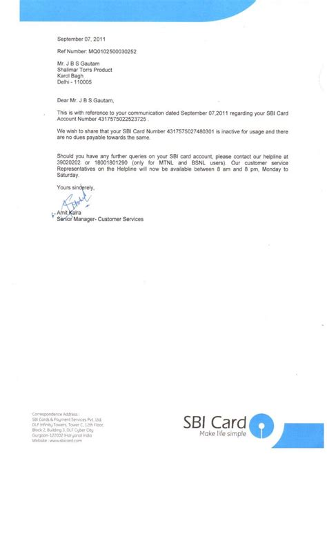 Sbi Credit Letter My Name Is Still Showing As A Defaulter In Cibil Though I A No Dues Proof Sbi Credit Cards