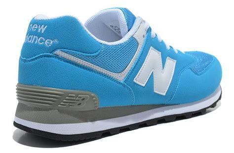 balance 574 light blue balance 574 mens light blue white shoes for sale 98