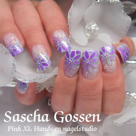 Airbrush Nails by Acrylic Nails With Airbrush Nailart Airbrush Made By