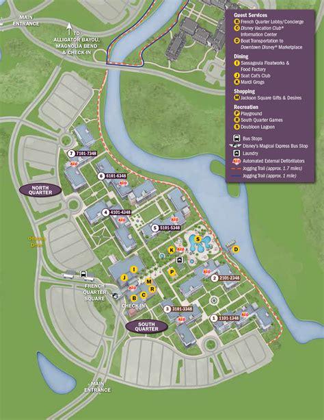 port orleans quarter map port orleans riverside resort map kennythepirate