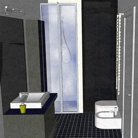 nicchia bagno dal bagno lungo e stretto ricavarne due cose di casa
