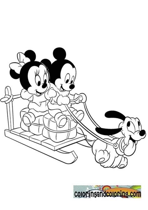 coloring pages of baby mickey mouse and friends 58 best mickey friends digis images on pinterest