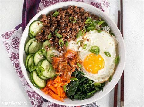 bibimbap  ultimate bowl meal budget bytes