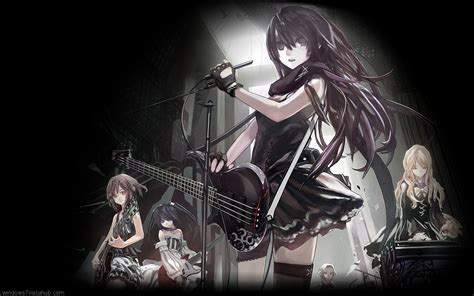 Anime Girl Rock Wallpaper | anime rock girl wallpaper www imgkid com the image kid