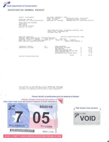 How To Get My Registration Sticker