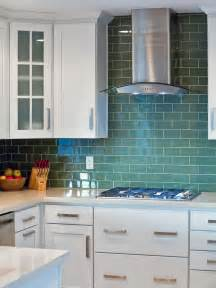 green glass backsplashes for kitchens 30 colorful kitchen design ideas from hgtv kitchen ideas