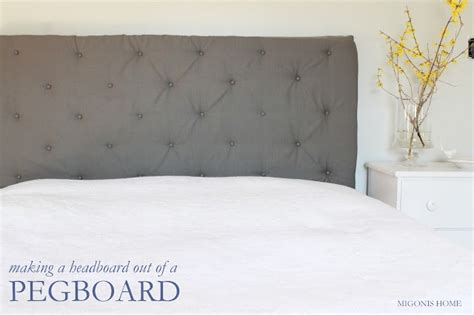 Diy Tufted Headboard Pegboard by Pegboard Headboard Tutorial Ideas For Girlies