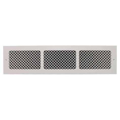 Decorative Air Return Grille by Smi Ventilation Products Essex Base Board 6 In X 30 In