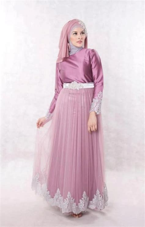 Baju Muslim Simply Byna Dress simple muslim pesta dresses 2016 17 hijabiworld