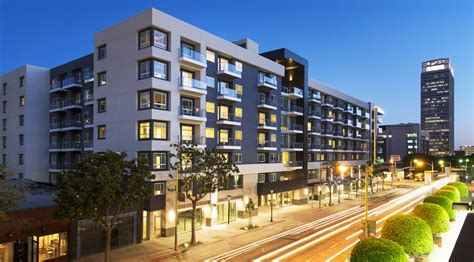appartments in los angeles first solar powered net zero apartment building in los