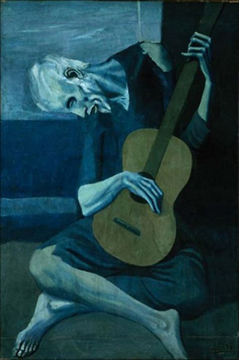 picasso paintings during the blue period letters syllables words phrases sentences inspired