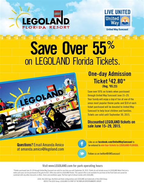 printable legoland tickets image gallery legoland tickets