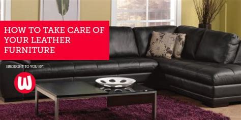 how to take care of leather furniture watson s top 4 tips to take care of your leather furniture