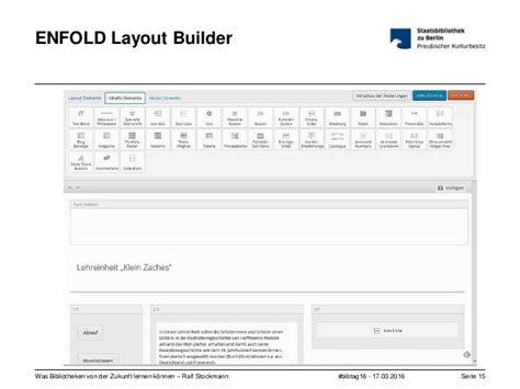 enfold layout builder video was bibliotheken von der zukunft lernen k 246 nnen