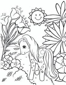 coloring pages of my pony my pony coloring pages coloringpages1001