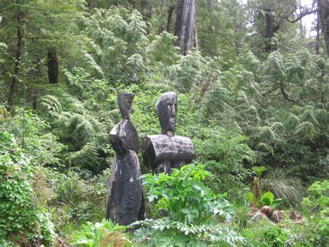 Botanical Gardens Tofino Statues Picture Of Tofino Botanical Gardens Tofino Tripadvisor