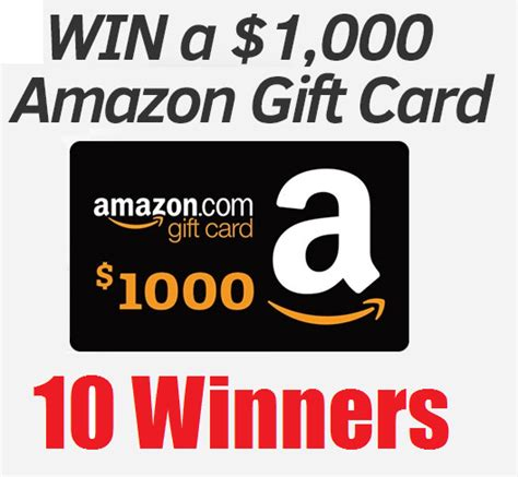 Amazon Gift Card Limit - 1 000 amazon gift card giveaway 10 winners short 1 day giveaway heavenly steals