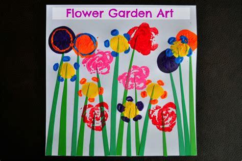 garden of craft flower garden crafts for pbs parents