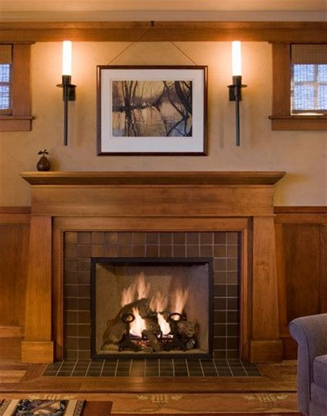 25 best ideas about craftsman fireplace on