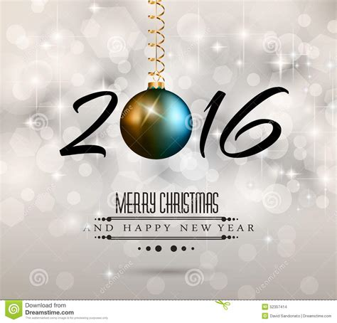 images of christmas new year 2016 2016 new year and happy christmas background stock
