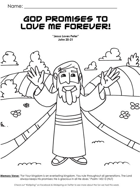 free coloring pages of god love children