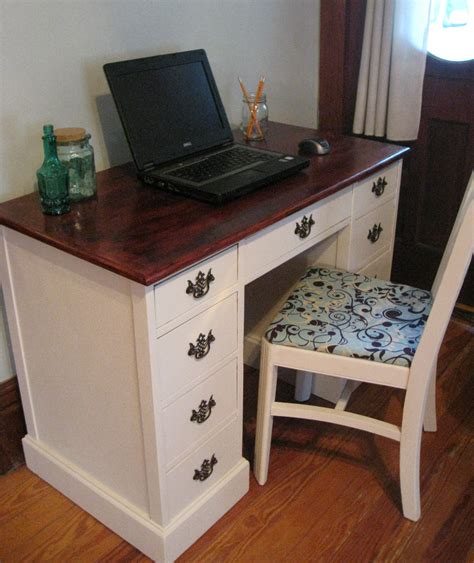 Refinish Desk by Weekend Charm Writer S Desk Chair Remodel