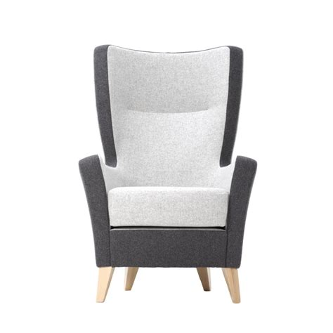 Back Armchair by High Back Armchair Knightsbridge Furniture