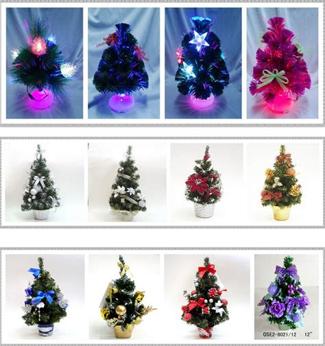2017 popular purple light bulb fiber optic christmas tree