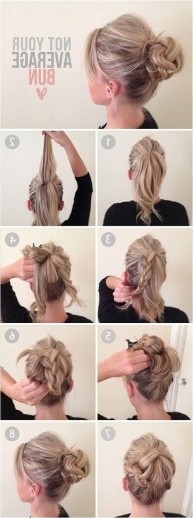 casual everyday hairstyles for long hair updos for long hair casual