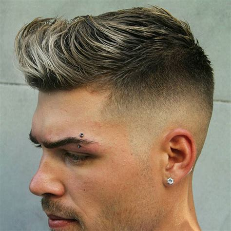 the most suitable hairstyles for boys with short and oval faces skin fade haircut bald fade haircut men s haircuts