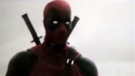 deadpool test footage the deadpool test footage for the