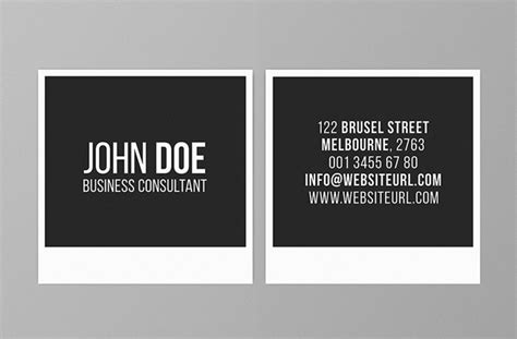 square business card template mini square business card psd templates design graphic