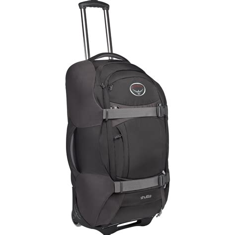 Tas Travel Traveling Travelling Traveller Traveler Bag wiggle osprey shuttle wheeled travel bag 32 quot 110l travel bags