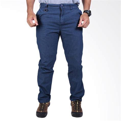 jual eiger highland 1 1 celana panjang pria navy harga kualitas terjamin blibli