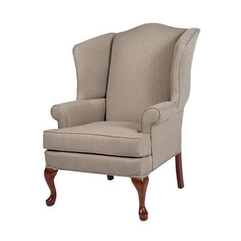 Beige Wingback Chair by 20067000 03