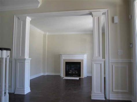 bloombety decorative wall molding designs with fireplace