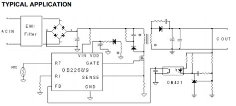 obcp datasheet current mode pwm controller liteon