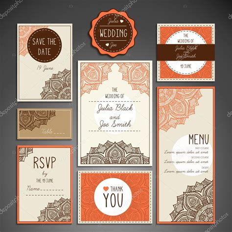 Wedding Card Collection by Wedding Card Collection Stock Vector 169 Vikasnezh 59257641