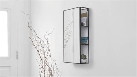 mirror with shelves bathroom mirrors bed company