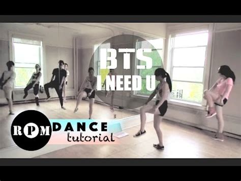 tutorial dance where are u now bts quot i need u quot dance tutorial chorus youtube