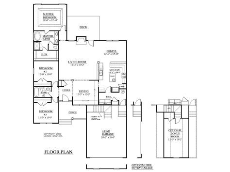 Southern Heritage Home Designs   House Plan 1870 A The