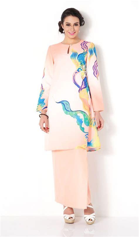 Baju Tebal Cover Pakaian Busana High Quality Suit Setelan Cover 130cm abstract print modern baju kurung kebaya baju kurung abstract
