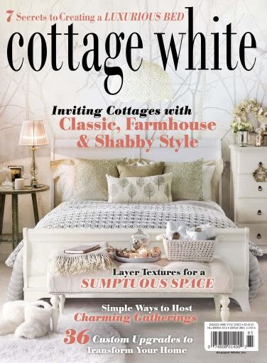 cottage magazine subscription cottages and bungalows magazine cottage white fall win 2016 subscriptions pocketmags
