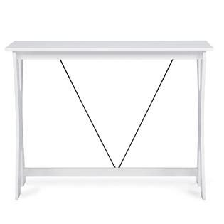 white writing desk and chair baxton studio cary contemporary brown white writing