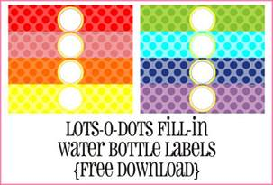 free printable water bottle labels template the crew introducing mayra rivera piggy bank
