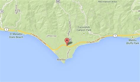 Google Maps Pch - northbound pch shut down in malibu after fatal accident latimes